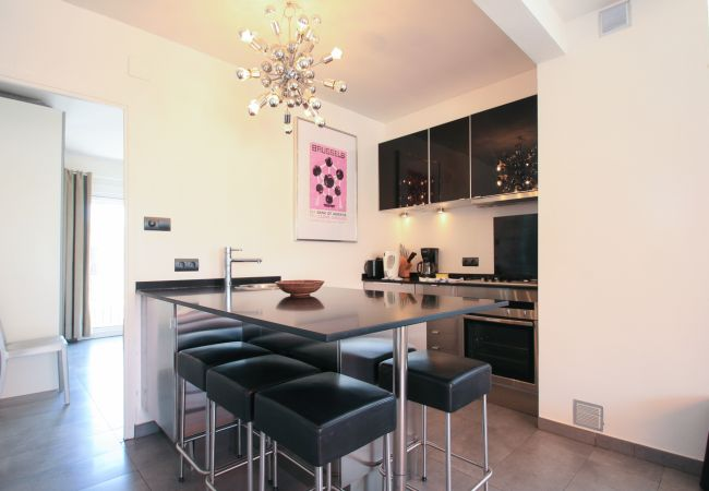 Apartamento en Sitges - PENTHOUSE EXPO now with lift !