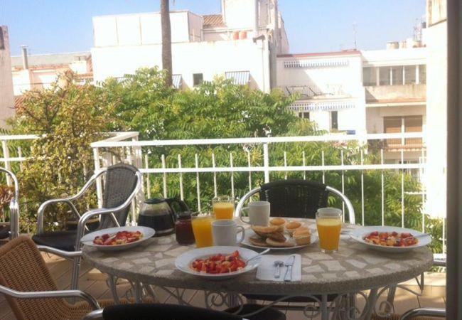 Appartement à Sitges - Bartomeu central Terrace apartment
