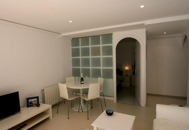 Appartement à Sitges - Azul y Blanco Apartment