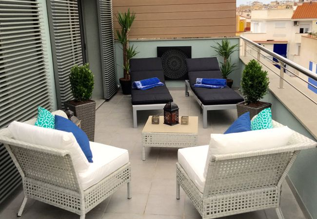 Apartment in Sitges - Baillie Penthouse Apartment