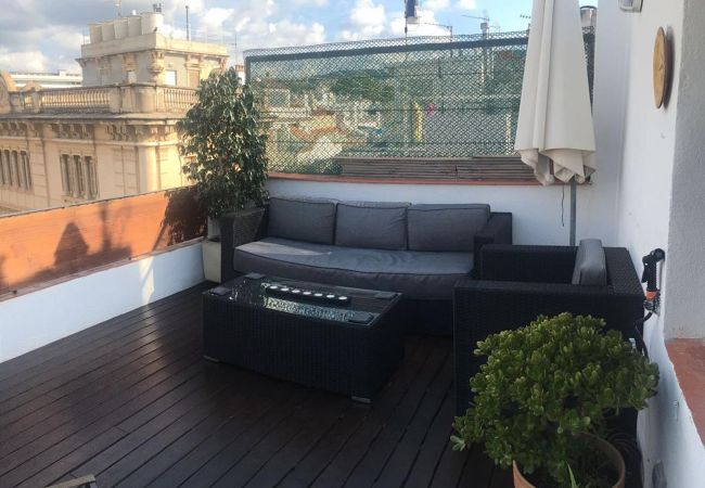 Studio in Sitges - Central Studio with an amazing terrace